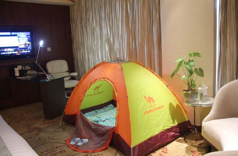 帳篷親子房
