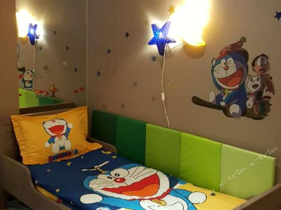 Cartoon Family Room