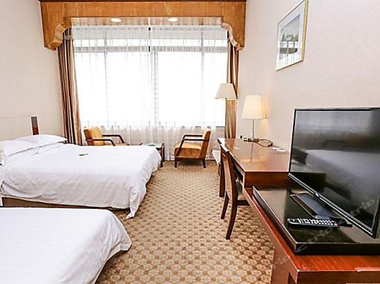 豪華江景雙床房