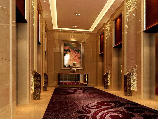 一层电梯间