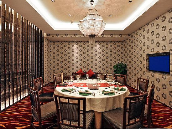 太极中餐厅包房